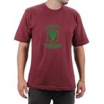 Camiseta Medicina Veterinaria Bordo