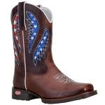 Texana Western Masculina Com Laser E Estampa Dos USA