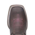 Bota Hopper Shine Pink com Recortes a Laser em Couro