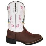 Bota Texana Nossa Senhora Aparecida Pink em Couro TexasKing
