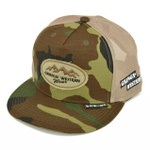 BONÉ TRUCKER ABA RETA GRINGA´s MOUNTAIN CREEK SNAPBACK