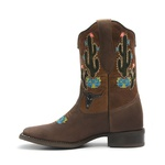 Bota Texana Cano Curto Dallas Castor