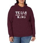 Moletom TexasKing Country Life Bordo Plus Size