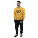 Conjunto Moletom TexasKing Amarelo e Preto