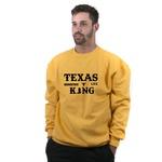 Moletom Flanelado TexasKing Country Life Amarelo Sem Capuz