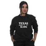 Moletom TexasKing Country Life Preto Sem Capus