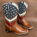 Bota Texana Masculina EUA em Couro - Último Par 40