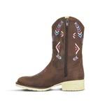 Bota Texana Infantil Couro Crazy Horse