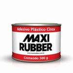 ADESIVO PLÁSTICO CINZA 0,5KG COM CATALISADOR MAXI RUBBER