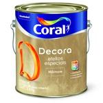 BASE EFEITO MARMORE BASE DECORA 3,9KG CORAL