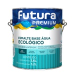 TINTA ESMALTE ACETINADO BRANCO BASE ÁGUA 3,6L FUTURA