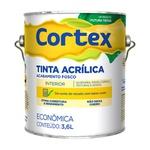Tinta Acrilica fosco branco profissional cortex futura 3,6l