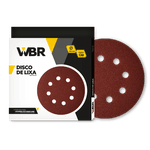 WAGNER DISCO DE LIXA 225MM GRÃO 120 - 8 FUROS