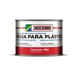 MAXI RUBBER MASSA POLIÉSTER PARA PLÁSTICO 400GR