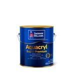 AQUACRYL ACRILICO FOSCO BRANCO 3,6L