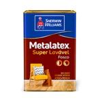 METALATEX FOSCO SUPERLAVÁVEL LARANJA 18L