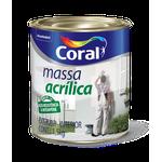 CORAL MASSA ACRÍLICA 1,5KG