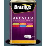 Tinta Acrílica Super Premium Defatto Brasilux 18L