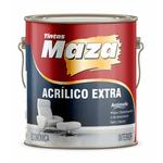 ACRILICO FOSCO BRANCO EXTRA MAZA 3,6LT