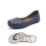 Kit Sapatilha e Chinelo Top Franca Shoes Marinho