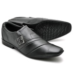 Sapato Social Masculino Top Franca Shoes Preto 12912