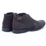 Bota Coturno Masculino Casual Top Franca Shoes Cafe