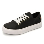 Sapatênis Feminino Top Franca Shoes Preto