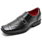 Sapato Social Masculino em Couro Tamanhos Grandes 45 a 48
