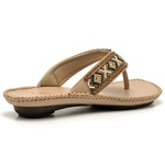 Sandalia Chinelo Feminino Top Franca Shoes Confort Nude