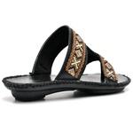 Sandalia Chinelo Feminino Confort Preto