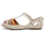 Sandalia Sapatilha Feminino Top Franca Shoes Moleca Bege
