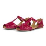 Sandalia Sapatilha Feminino Top Franca Shoes Moleca Verniz Rosa