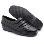 Tenis Sapatenis Conforto Top Franca Shoes Preto