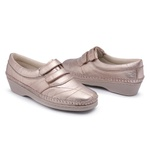 Tenis Sapatenis Conforto Top Franca Shoes Rosa Bebe