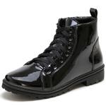 Bota Botinha Feminina Top Franca Shoes Verniz Preto