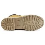 Bota Coturno Casual Masculino Top Franca Shoes Mostarda