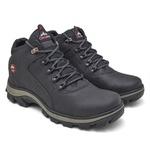 Bota Coturno Adventure Top Franca Shoes Preta