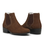 Bota Botina Country Feminina Top Franca Shoes Café