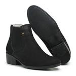 Bota Botina Country Feminina Top Franca Shoes Preto