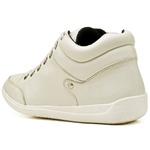 Bota Botinha Casual Top Franca Shoes Marfim
