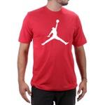 Camiseta Algodão Jordan Vermelho