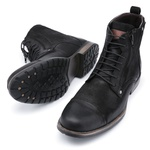 Bota Coturno Top Franca Shoes Preto