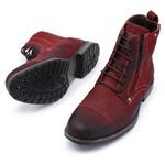 Bota Coturno Top Franca Shoes Vermelho