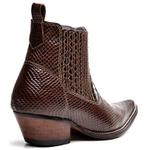 Bota Country Masculina Bico Fino Top Franca Shoes Cafe