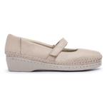 Sapato Sapatilha Top Franca Shoes Boneca Marfim