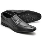 Sapato Social Masculino Top Franca Shoes Preto 1510