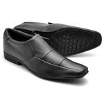 Sapato Social Masculino Top Franca Shoes Preto 1520