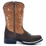 Bota Country Texana Infantil Top Franca Shoes Cafe / Whisk
