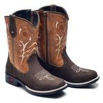 Bota Country Texana Infantil Top Franca Shoes Cafe / Whisk