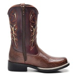 Bota Country Texana Infantil Top Franca Shoes Castor